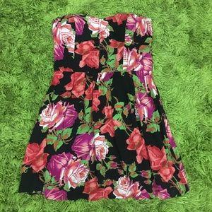 Miss Shop La De Da Strapless Mini Dress Size 12
